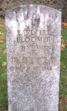 BLOOMER  (VETERAN), EARL LEE - Hawkins County, Tennessee | EARL LEE BLOOMER  (VETERAN) - Tennessee Gravestone Photos