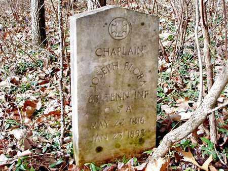 FLORA  (VETERAN CSA), JOSEPH - Hawkins County, Tennessee | JOSEPH FLORA  (VETERAN CSA) - Tennessee Gravestone Photos