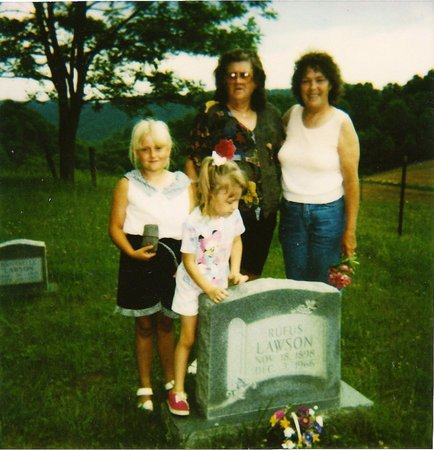 LAWSON, RUFUS - Hawkins County, Tennessee | RUFUS LAWSON - Tennessee Gravestone Photos
