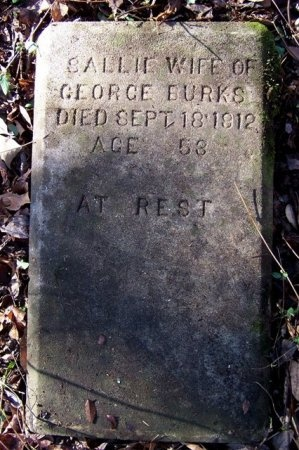 BURKS, SALLIE - Haywood County, Tennessee   SALLIE BURKS - Tennessee Gravestone Photos