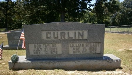 CURLIN, BOB TAYLOR - Haywood County, Tennessee | BOB TAYLOR CURLIN - Tennessee Gravestone Photos