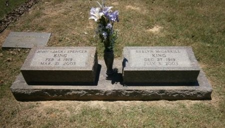 KING, JOHN SPENCER - Haywood County, Tennessee | JOHN SPENCER KING - Tennessee Gravestone Photos