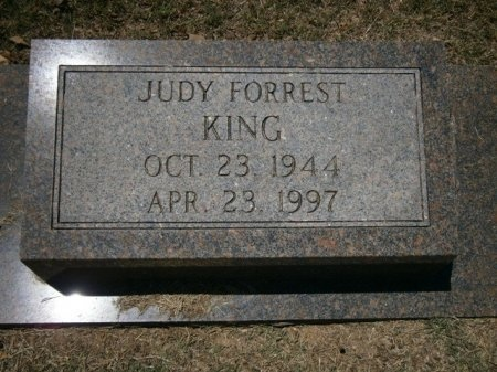 FORREST KING, JUDY - Haywood County, Tennessee | JUDY FORREST KING - Tennessee Gravestone Photos