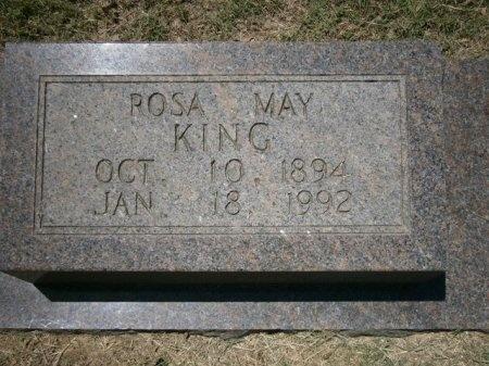 DICKINSON KING, ROSA MAY - Haywood County, Tennessee   ROSA MAY DICKINSON KING - Tennessee Gravestone Photos