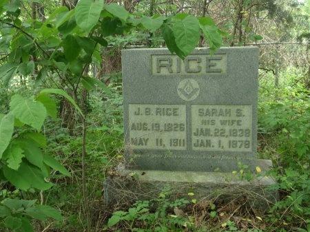 SHAW RICE, SARAH - Haywood County, Tennessee | SARAH SHAW RICE - Tennessee Gravestone Photos