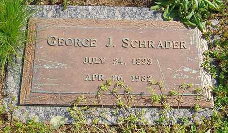 SCHRADER, GEORGE J. - Haywood County, Tennessee | GEORGE J. SCHRADER - Tennessee Gravestone Photos