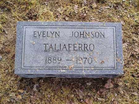 JOHNSON TALIAFERRO, EVELYN - Haywood County, Tennessee   EVELYN JOHNSON TALIAFERRO - Tennessee Gravestone Photos