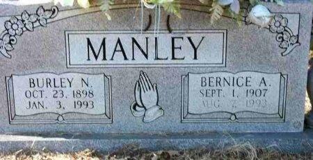 MANLEY, BURLEY NELSON SR. - Henderson County, Tennessee | BURLEY NELSON SR. MANLEY - Tennessee Gravestone Photos