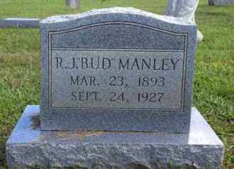 "MANLEY, R J ""BUD"" - Henderson County, Tennessee | R J ""BUD"" MANLEY - Tennessee Gravestone Photos"