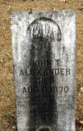 ALEXANDER, JOHN T. - Henry County, Tennessee   JOHN T. ALEXANDER - Tennessee Gravestone Photos