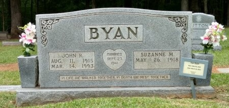 BYAN, SUZANNE MARIE - Henry County, Tennessee | SUZANNE MARIE BYAN - Tennessee Gravestone Photos