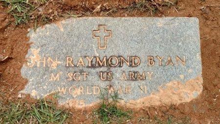 BYAN (VETERAN WWII), JOHN RAYMOND - Henry County, Tennessee | JOHN RAYMOND BYAN (VETERAN WWII) - Tennessee Gravestone Photos