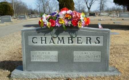 REDMEIER CHAMBERS, RUBY - Henry County, Tennessee | RUBY REDMEIER CHAMBERS - Tennessee Gravestone Photos