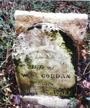 GORDON, JANE - Henry County, Tennessee | JANE GORDON - Tennessee Gravestone Photos