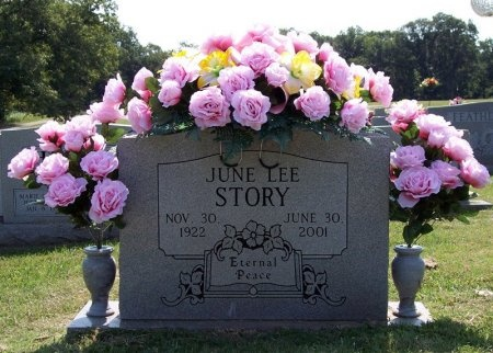 STORY, JUNE - Henry County, Tennessee | JUNE STORY - Tennessee Gravestone Photos