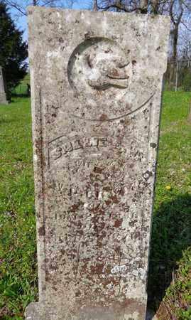 BRYAN, SALLIE E W - Hickman County, Tennessee   SALLIE E W BRYAN - Tennessee Gravestone Photos