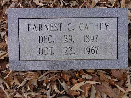 CATHEY, EARNEST C - Hickman County, Tennessee | EARNEST C CATHEY - Tennessee Gravestone Photos