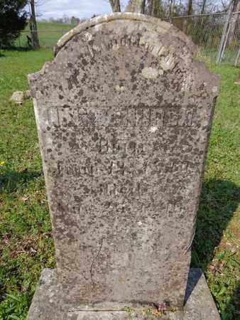 CHURCH, ISAAC EMMONS - Hickman County, Tennessee | ISAAC EMMONS CHURCH - Tennessee Gravestone Photos