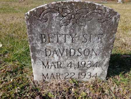 DAVIDSON, BETTY SUE - Hickman County, Tennessee | BETTY SUE DAVIDSON - Tennessee Gravestone Photos