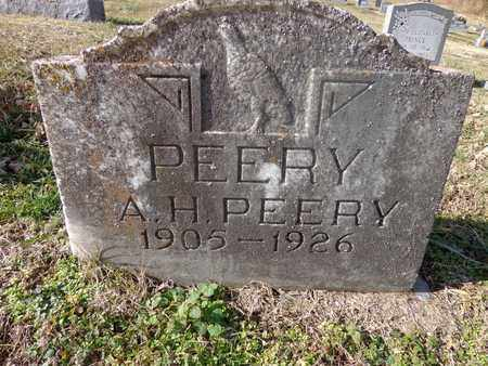 PEERY, A H - Hickman County, Tennessee   A H PEERY - Tennessee Gravestone Photos