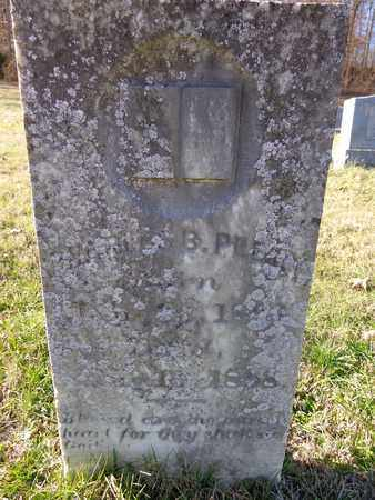 PEERY, CHARLES B - Hickman County, Tennessee | CHARLES B PEERY - Tennessee Gravestone Photos