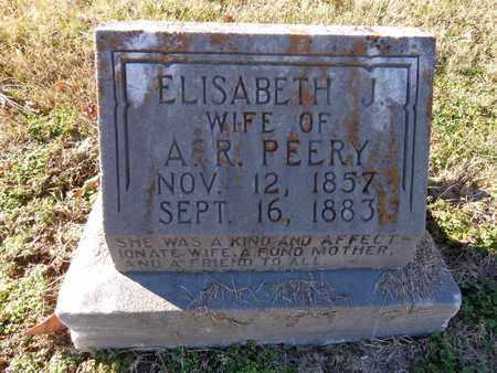 PEERY, ELISABETH J - Hickman County, Tennessee | ELISABETH J PEERY - Tennessee Gravestone Photos
