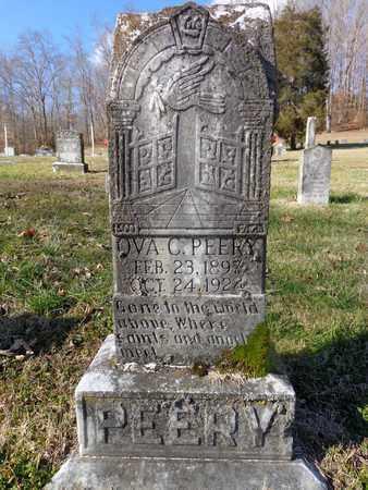 PEERY, OVA C - Hickman County, Tennessee   OVA C PEERY - Tennessee Gravestone Photos