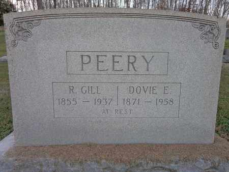 PEERY, DOVIE E - Hickman County, Tennessee | DOVIE E PEERY - Tennessee Gravestone Photos
