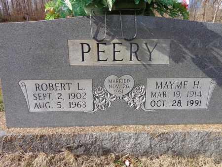 PEERY, ROBERT L - Hickman County, Tennessee | ROBERT L PEERY - Tennessee Gravestone Photos