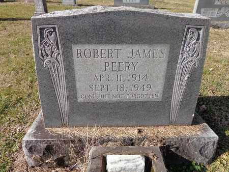 PEERY, ROBERT JAMES - Hickman County, Tennessee | ROBERT JAMES PEERY - Tennessee Gravestone Photos