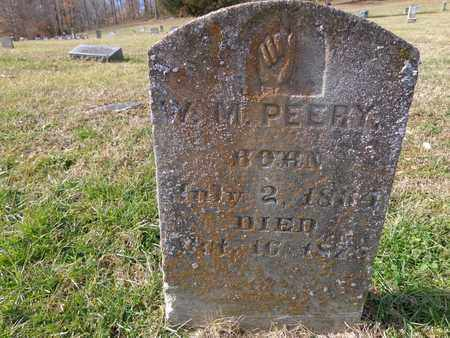 PEERY, W M - Hickman County, Tennessee | W M PEERY - Tennessee Gravestone Photos