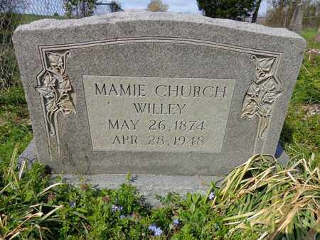 "WILLEY, MARY ELIZABETH ""MAMIE"" - Hickman County, Tennessee | MARY ELIZABETH ""MAMIE"" WILLEY - Tennessee Gravestone Photos"