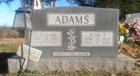 ROGERS ADAMS, ELSIE I. - Houston County, Tennessee | ELSIE I. ROGERS ADAMS - Tennessee Gravestone Photos