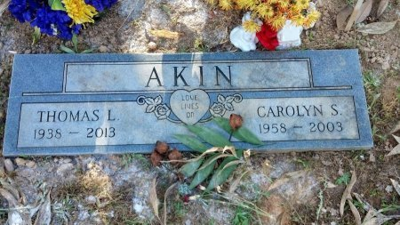 AKIN, CAROLYN S. - Houston County, Tennessee | CAROLYN S. AKIN - Tennessee Gravestone Photos