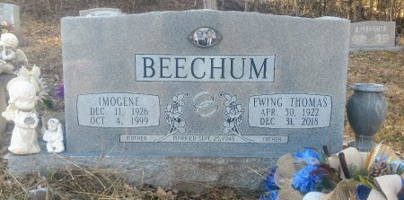 BEECHUM, EWING THOMAS - Houston County, Tennessee | EWING THOMAS BEECHUM - Tennessee Gravestone Photos