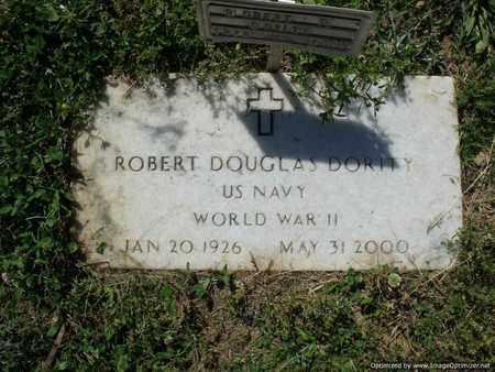 DORITY (VETERAN WWII), ROBERT DOUGLAS - Houston County, Tennessee | ROBERT DOUGLAS DORITY (VETERAN WWII) - Tennessee Gravestone Photos