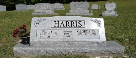 HARRIS, BETTY LOUISE - Houston County, Tennessee | BETTY LOUISE HARRIS - Tennessee Gravestone Photos