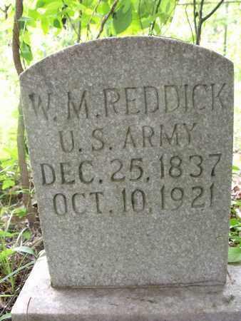 REDDICK (VETERAN WWI), WILLIAM MARTIN - Houston County, Tennessee | WILLIAM MARTIN REDDICK (VETERAN WWI) - Tennessee Gravestone Photos