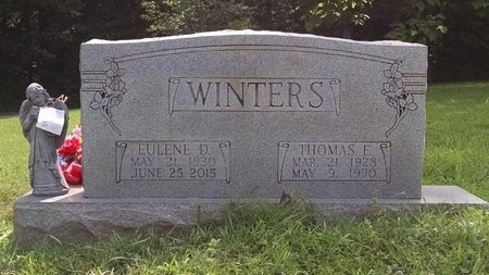 WINTERS, THOMAS E. - Houston County, Tennessee | THOMAS E. WINTERS - Tennessee Gravestone Photos