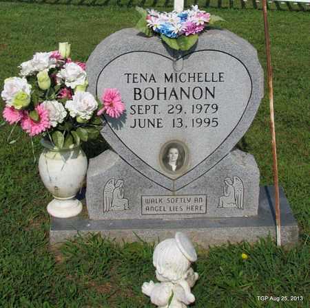 BOHANON, TENA MICHELLE - Humphreys County, Tennessee | TENA MICHELLE BOHANON - Tennessee Gravestone Photos