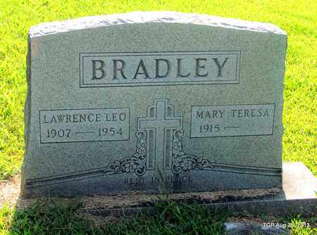 BRADLEY, LAWRENCE LEO - Humphreys County, Tennessee | LAWRENCE LEO BRADLEY - Tennessee Gravestone Photos