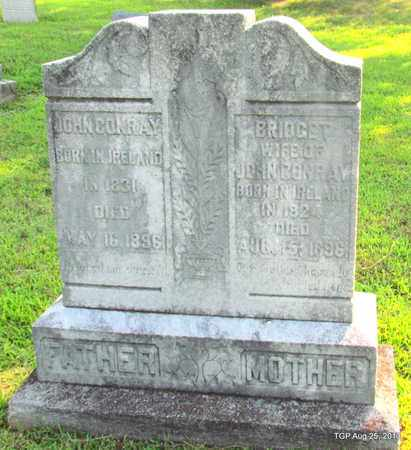 CONRAY, BRIDGET - Humphreys County, Tennessee | BRIDGET CONRAY - Tennessee Gravestone Photos