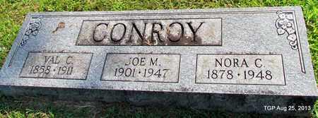 CONROY, JOE M - Humphreys County, Tennessee | JOE M CONROY - Tennessee Gravestone Photos