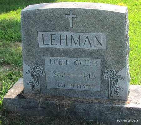 LEHMAN, JOSEPH WALTER - Humphreys County, Tennessee | JOSEPH WALTER LEHMAN - Tennessee Gravestone Photos