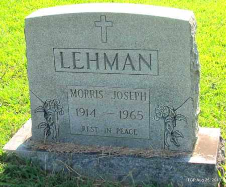 LEHMAN, MORRIS JOSEPH - Humphreys County, Tennessee | MORRIS JOSEPH LEHMAN - Tennessee Gravestone Photos