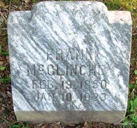 MCGLINCHEY, FRANK - Humphreys County, Tennessee | FRANK MCGLINCHEY - Tennessee Gravestone Photos