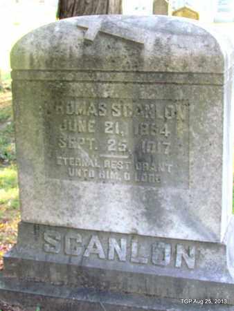 SCANLON, THOMAS - Humphreys County, Tennessee | THOMAS SCANLON - Tennessee Gravestone Photos
