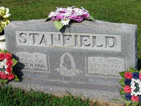 STANFIELD, MAE K - Humphreys County, Tennessee | MAE K STANFIELD - Tennessee Gravestone Photos
