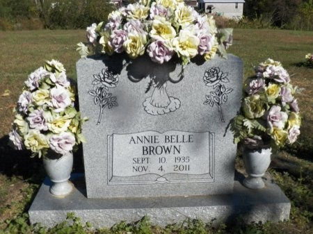 BROWN, ANNIE BELLE - Jackson County, Tennessee | ANNIE BELLE BROWN - Tennessee Gravestone Photos