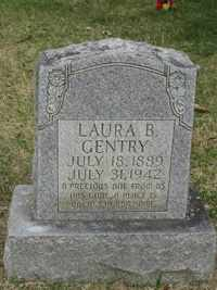 GENTRY, LAURA B. - Jackson County, Tennessee | LAURA B. GENTRY - Tennessee Gravestone Photos
